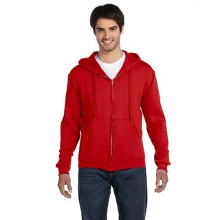 Men's Big and Tall Supercotton 70/30 Full-Zip True Red Hood