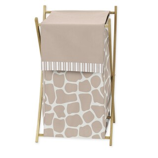 Sweet Jojo Designs Giraffe Collection Laundry Hamper