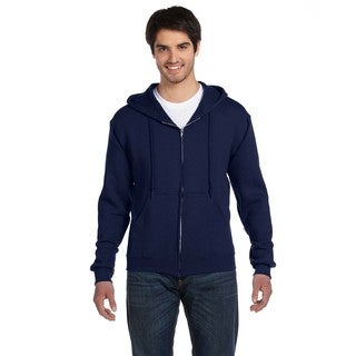 Men's Big and Tall Supercotton 70/30 Full-Zip J Navy Hood