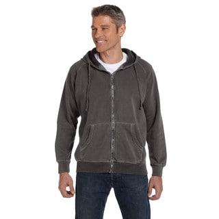 Men's Big and Tall Garment-Dyed Full-Zip Pepper Hood