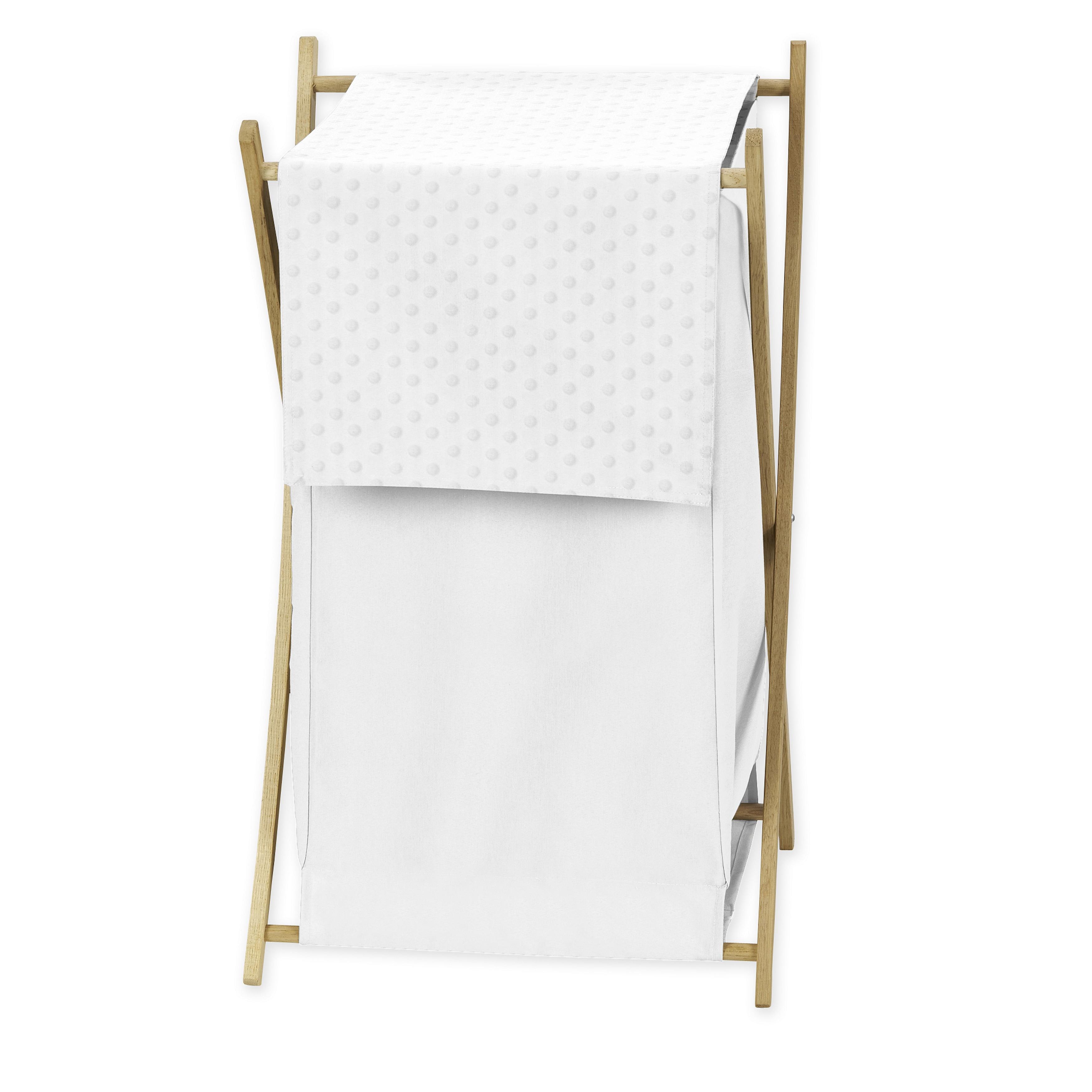 JoJo Designs White Minky Dot Collection Fabric 26.5-inch ...
