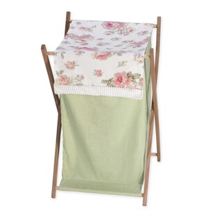 Sweet Jojo Designs Riley's Roses Collection Laundry Hamper