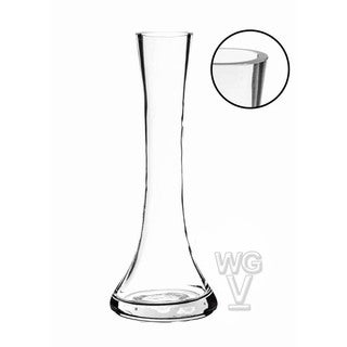 75-inch Clear Small Round Bud Vase