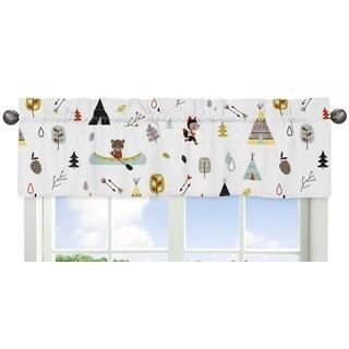 Sweet Jojo Designs Outdoor Adventure Collection Window Curtain Valance