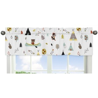 Sweet Jojo Designs Outdoor Adventure Collection Window Curtain Valance