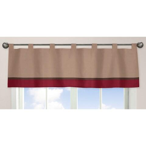 Sweet Jojo Designs All Star Sports Collection Window Curtain Valance