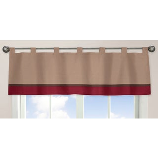 Sweet Jojo Designs All Star Sports Collection Window Curtain Valance