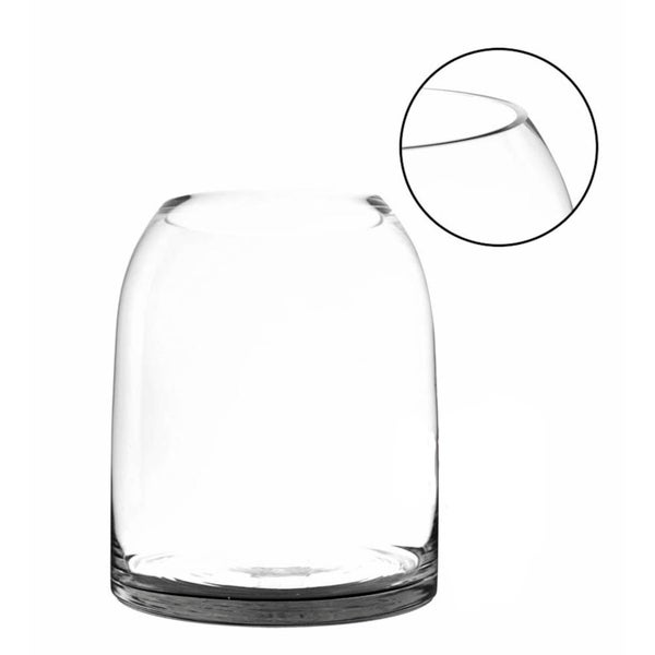 Shop 115 Inch Clear Dome Shape Terrarium Bowl Glass Vase Free