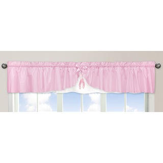 Sweet Jojo Designs Ballerina Collection Window Curtain Valance