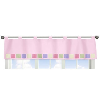 Sweet Jojo Designs Pink and Purple Butterfly Collection Window Curtain Valance