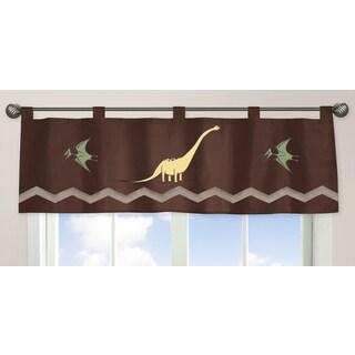 Sweet Jojo Designs Dinosaur Land Collection Window Curtain Valance