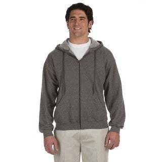 Men's Vintage Classic Full-Zip Tweed Hood (XL)