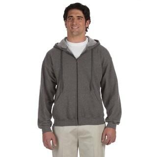Men's Vintage Classic Full-Zip Tweed Hood (XL)