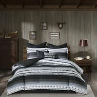 Woolrich Rooftop Grey Comforter 8-Piece Set