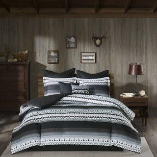 Woolrich Rooftop Grey Comforter 8-Piece Set