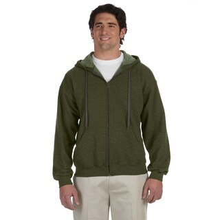 Men's Vintage Classic Full-Zip Moss Hood (XL)