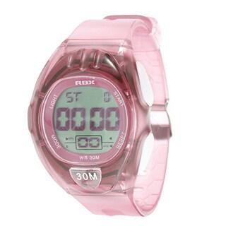 RBX Active Sport Digital Pink Rubber Strap Watch