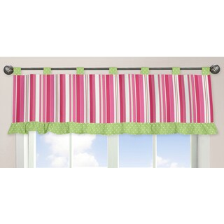 Sweet Jojo Designs Olivia Collection Window Curtain Valance