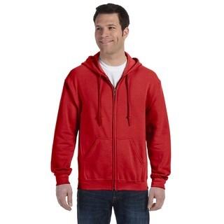 50/50 Men's Full-Zip Red Hood