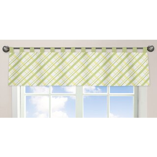 Sweet Jojo Designs Leap Frog Collection Window Curtain Valance