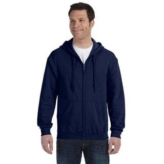 50/50 Men's Full-Zip Navy Hood (XL)