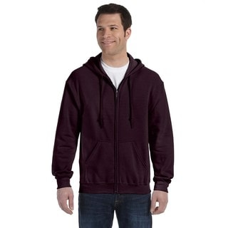 50/50 Men's Full-Zip Dark Chocolate Hood (XL)
