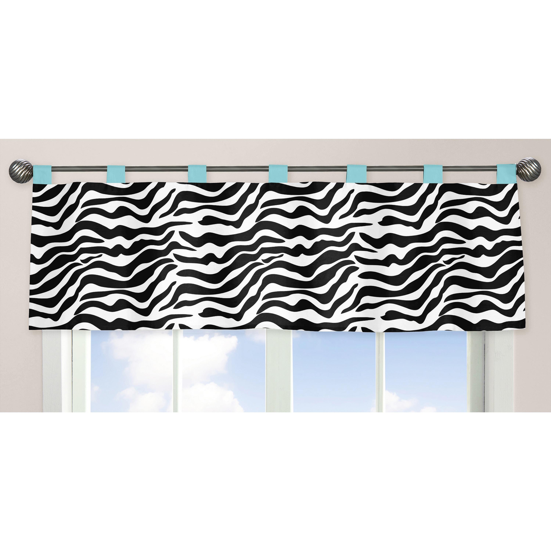 JoJo Designs Funky Zebra Collection Turquoise/Black/White...