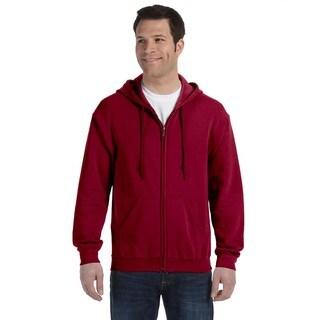 50/50 Men's Full-Zip Cardinal Red Hood (XL)