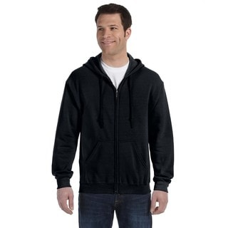 50/50 Men's Full-Zip Black Hood