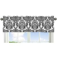 Sweet Jojo Designs Damask Window Curtain Valance for the Sloane Collection