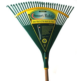 Flexrake CF224W 48-inch Handle 24-inch Actionpoly Head Ergonomic Leaf Rake
