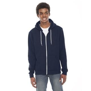 Unisex Flex Fleece Zip Navy Hoodie(S, XL)