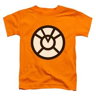 Green Lantern/Agent Orange Short Sleeve Toddler Tee in Orange
