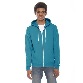 Unisex Flex Fleece Zip Mermaid Green Hoodie