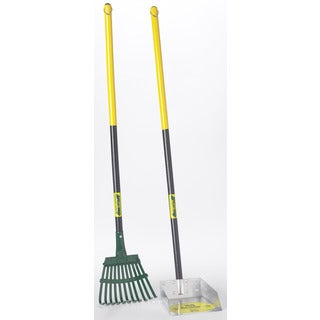 Flexrake 58W Small Scoop & Steel Rake Set