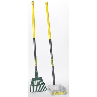 Flexrake 58W Small Scoop & Steel Rake Set|https://ak1.ostkcdn.com/images/products/12401815/P19221975.jpg?impolicy=medium