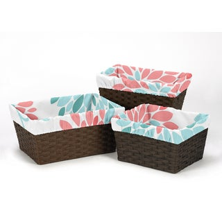 Sweet Jojo Designs Emma Collection Basket Liners
