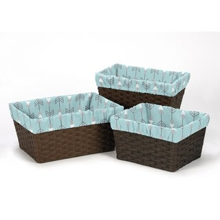 Sweet Jojo Designs Earth and Sky Collection Basket Liners