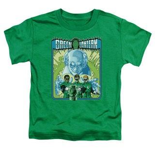 Green Lantern/Gl #184 Cover Short Sleeve Toddler Tee in Kelly Green