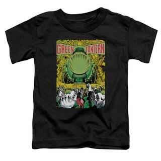Green Lantern/Gl #200 Cover Short Sleeve Toddler Tee in Black