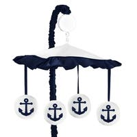 Sweet Jojo Designs Anchors Away Collection Multicolored Musical Mobile