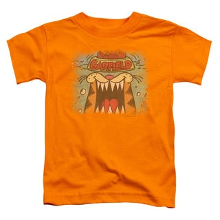 Garfield/From The Depths Short Sleeve Toddler Tee in Orange