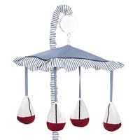 Shop Sweet Jojo Designs Come Sail Away Nautical Lamp Shade