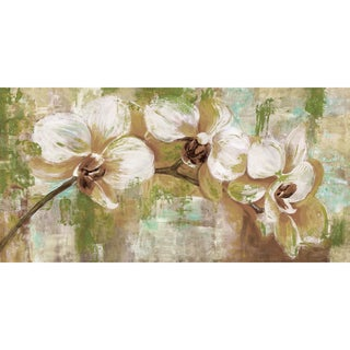 Portfolio Canvas Decor Sandy Doonan Orchid Reserve Green I Stretched and Wrapped Canvas Print Wall Art