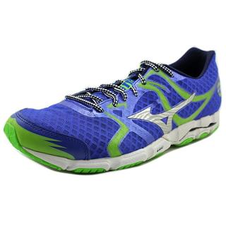 Mizuno Men's Wave Hitogami Blue Mesh Athletic Shoes