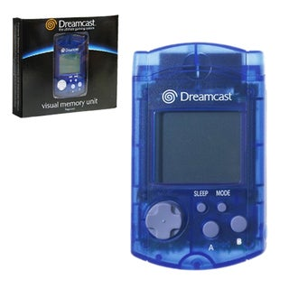 Sega Dreamcast VMU Unit Visual Memory Memory Card