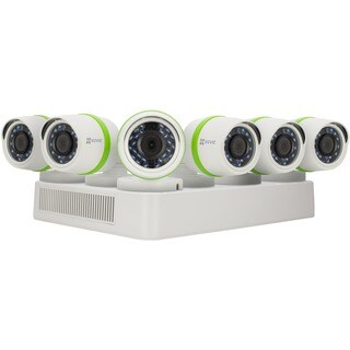 EZVIZ Smart Home 1080p Security System, 6 Weatherproof HD 1080p Camer