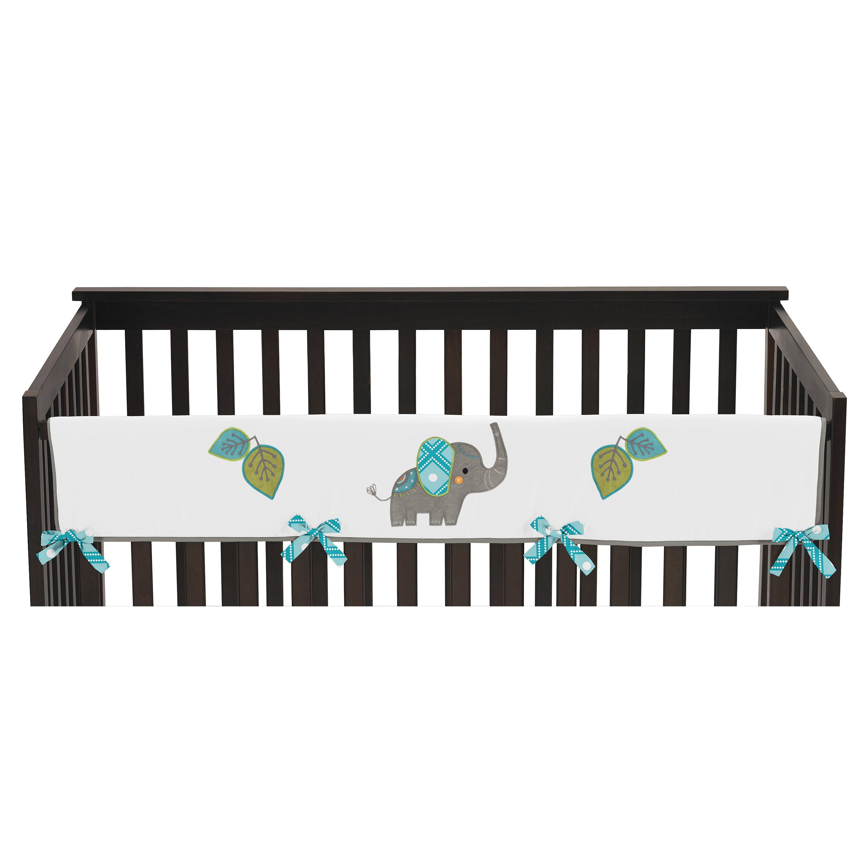 JoJo Designs Mod Elephant Collection Long Crib Rail Guard...