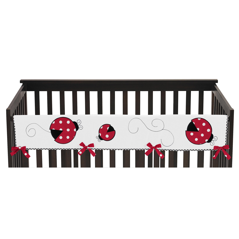JoJo Designs Polka Dot Ladybug Collection Long Crib Rail ...