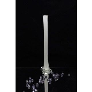 24-inch White Tower Vase